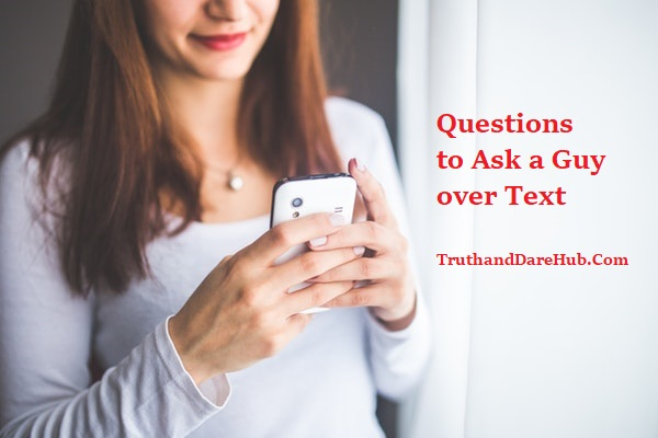 Deep Questions to Ask a Guy over Text